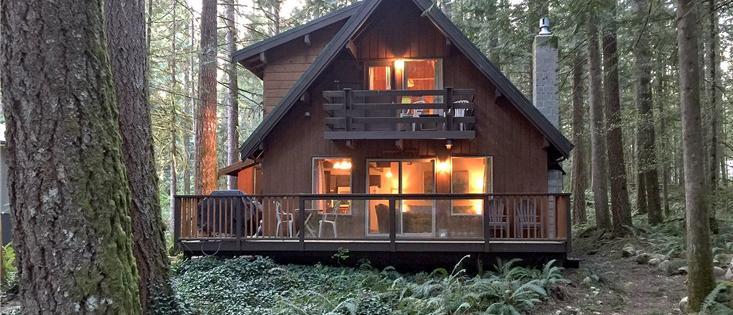 Mt. Baker Lodging's Cabin #27