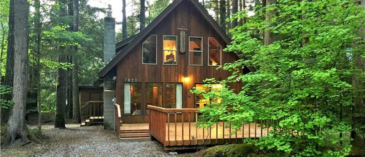 Mt. Baker Lodging's Cabin #35