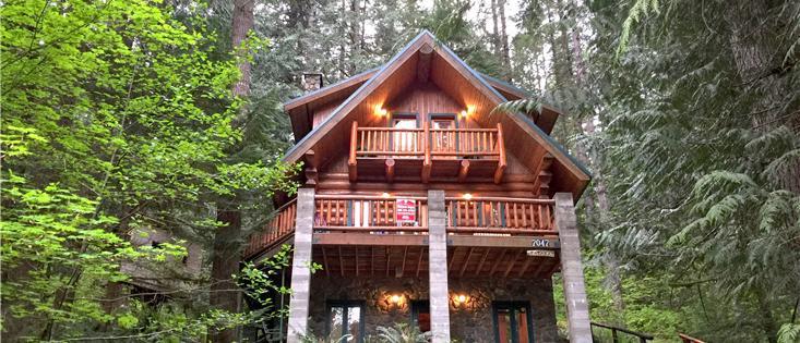 Mt. Baker Lodging's Cabin #47