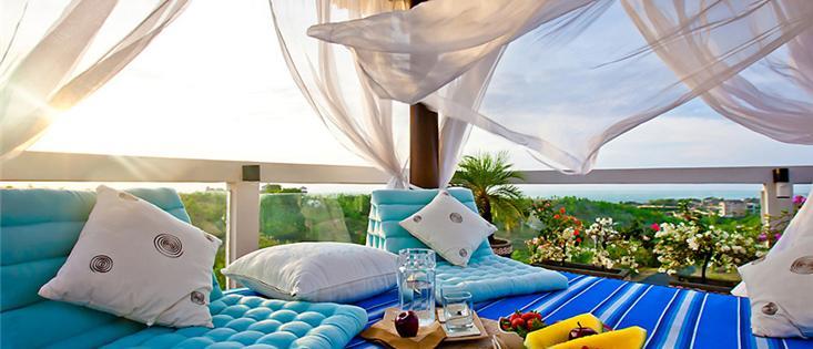Luxury suite, pool, roof top patio / Modern design in hill top villa Sky House, ocean view