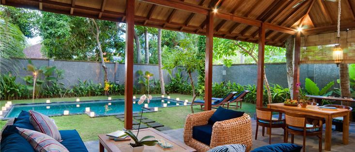 Deluxe Tropical Pool Villas, One Bedroom Pool Villa