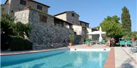 Accommodation Castellina in Chianti Italy