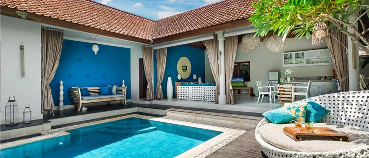Villa Sea in the BEST location! Seminyak square.