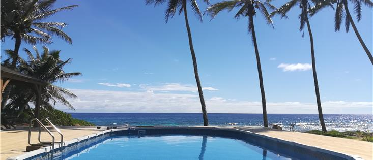Pacific View... with pool and ocean views
